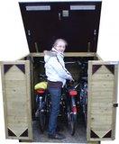 Lutra Box Fietsenberging 125x215x130_