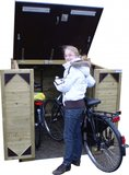 Lutra Box Fietsenberging 125x215x141_