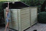 Lutra Box Fietsenberging 150x215x141_