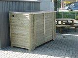 LMF203D-RG Lutra Box Fietsenberging 200x96x141_
