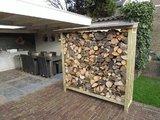 Lutra Box Houtopslag 185x62x180_