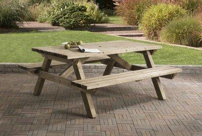 Picknicktafel 160 x 180
