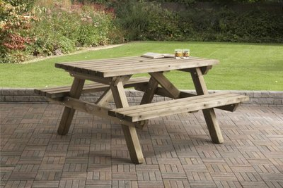 Picknicktafel 150 x 150