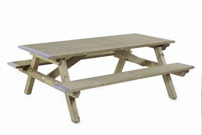 Picknicktafel 160 x 200 Dicht