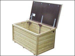 Lutra Box Tuinkist 120x67x67 zonder gasdrukveren
