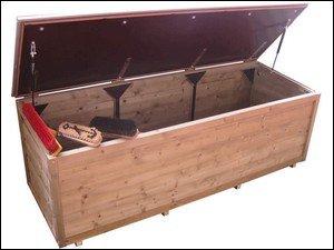Lutra Box Tuinkist 190x67x67 met gasdrukveren