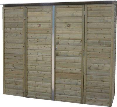 Lutra Box Tuinkast 180x82x180