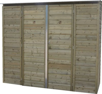Lutra Box Tuinkast 230x82x180