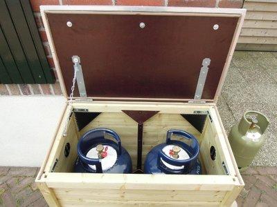 Lutra Box Opbergkist voor gasflessen