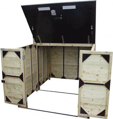 Lutra Box Fietsenberging 200x215x141