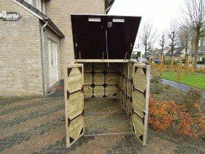 Lutra Box Bakfietsberging 150x273x156