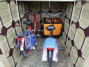 Lutra Box Bakfietsberging 150x273x181