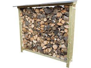 Lutra Box Houtopslag 185x62x180