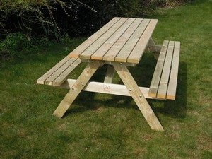 Lutra Box Picknicktafel Tafelblad 180x62