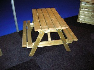 Lutra Box Kinder Picknicktafel Tafelblad 90x48