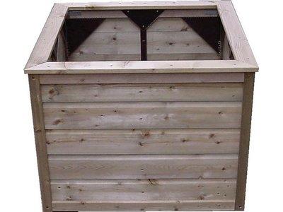 Lutra Box Bloembak 100x100x95