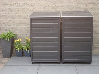 Lutra Box Afvalcontainer Berging 70x79x116 140L of 240L