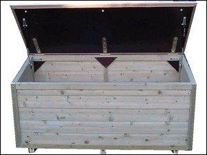 Lutra Box Tuinkist 140x67x67 met gasdrukveren