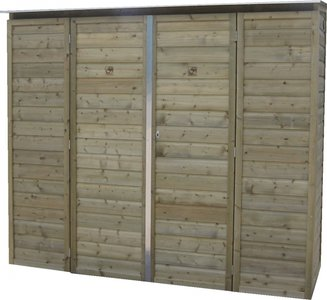 Lutra Box Tuinkast 230x82x206