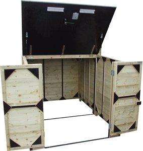Lutra Box Fietsenberging 200x215x130