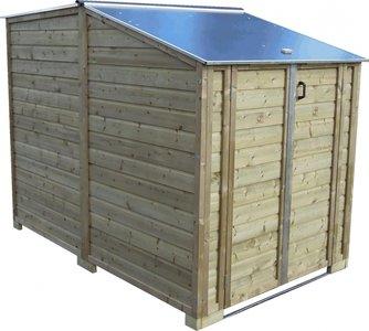 Lutra Box Bakfietsberging 150x243x181