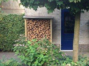 Lutra Box Houtopslag 125x62x180